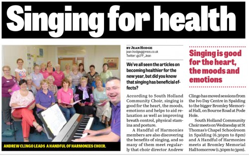 Singing for Health