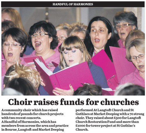 Choir Raises Funds for Churches 15/03/2013